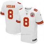 Camiseta Kansas City Chiefs Hogan Blanco Nike Elite NFL Hombre