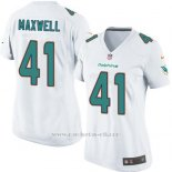 Camiseta Miami Dolphins Maxwell Blanco Nike Game NFL Mujer