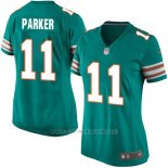 Camiseta Miami Dolphins Parker Verde Oscuro Nike Game NFL Mujer