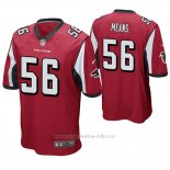 Camiseta NFL Game Hombre Atlanta Falcons Steven Means Rojo
