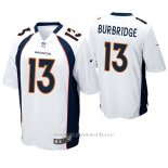 Camiseta NFL Game Hombre Denver Broncos Aaron Burbridge Blanco
