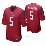 Camiseta NFL Game Hombre Houston Texans Aj Mccarron Rojo