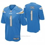 Camiseta NFL Game Hombre San Diego Chargers Ty Long Powder Azul
