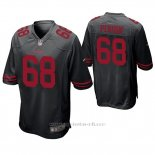 Camiseta NFL Game Hombre San Francisco 49ers Mike Person Negro
