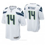 Camiseta NFL Game Hombre Seattle Seahawks D.k. Metcalf Blanco