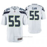 Camiseta NFL Game Hombre Seattle Seahawks Frank Clark Blanco