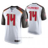 Camiseta NFL Game Hombre Tampa Bay Buccaneers Ryan Fitzpatrick Blanco