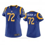 Camiseta NFL Game Mujer Los Angeles Rams Tremayne Anchrum Jr. Azul