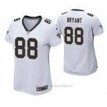 Camiseta NFL Game Mujer New Orleans Saints Dez Bryant Blanco