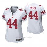 Camiseta NFL Game Mujer New York Giants Markus Golden Blanco