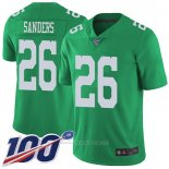 Camiseta NFL Game Philadelphia Eagles 26 Miles Sanders Verde