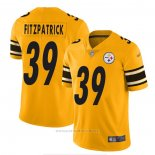 Camiseta NFL Game Pittsburgh Steelers 39 Minkah Fitzpatrick Amarillo