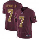 Camiseta NFL Game Washington Redskins 7 Dwayne Haskins Jr Rojo
