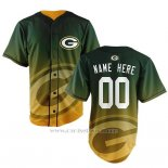 Camiseta NFL Green Bay Packers Personalizada Verde