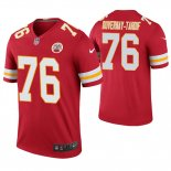 Camiseta NFL Legend Hombre Kansas City Chiefs Laurent Duvernay Tardif Rojo Color Rush