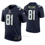 Camiseta NFL Legend Hombre San Diego Chargers 81 Mike Williams Azul
