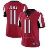 Camiseta NFL Limited Hombre Atlanta Falcons 11 Julio Jones Rojo Stitched Vapor Untouchable