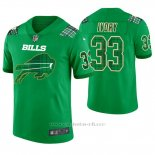 Camiseta NFL Limited Hombre Buffalo Bills Chris Ivory St. Patrick's Day Verde
