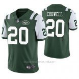Camiseta NFL Limited Hombre New York Jets Isaiah Crowell Verde Vapor Untouchable