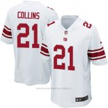 Camiseta NFL Limited Hombre San Francisco 49ers 21 Collins Blanco