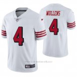 Camiseta NFL Limited Hombre San Francisco 49ers Nick Mullens Blanco Color Rush