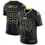Camiseta NFL Limited Los Angeles Rams Donald Lights Out Negro