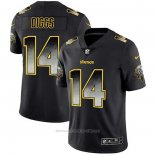 Camiseta NFL Limited Minnesota Vikings Diggs Smoke Fashion Negro