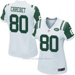 Camiseta New York Jets Chrebet Blanco Nike Game NFL Mujer