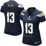 Camiseta San Diego Chargers Allen Negro Nike Game NFL Mujer