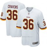Camiseta Washington Redskins Cravens Blanco Nike Game NFL Hombre