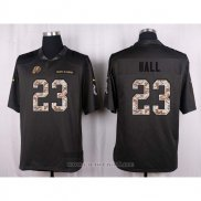 Camiseta Washington Redskins Hall Apagado Gris Nike Anthracite Salute To Service NFL Hombre