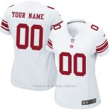 Camisetas NFL Limited Mujer New York Giants Personalizada Blanco