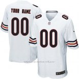 Camisetas NFL Limited Nino Chicago Bears Personalizada Blanco