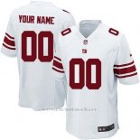 Camisetas NFL Limited Nino New York Giants Personalizada Blanco
