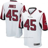 Camiseta Atlanta Falcons Jones Blanco Nike Game NFL Nino