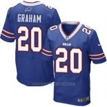 Camiseta Buffalo Bills Graham Azul Nike Elite NFL Hombre