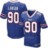 Camiseta Buffalo Bills Lawson Azul Nike Elite NFL Hombre2
