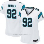 Camiseta Carolina Panthers Butler Blanco Nike Game NFL Mujer
