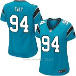 Camiseta Carolina Panthers Ealy Lago Azul Nike Game NFL Mujer