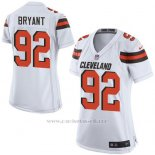 Camiseta Cleveland Browns Bryant Blanco Nike Game NFL Mujer