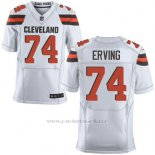 Camiseta Cleveland Browns Erving Blanco Nike Elite NFL Hombre