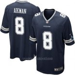 Camiseta Dallas Cowboys Aikman Negro Nike Game NFL Nino