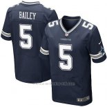 Camiseta Dallas Cowboys Bailey Profundo Azul Nike Elite NFL Hombre