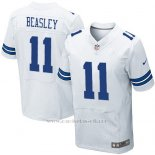 Camiseta Dallas Cowboys Beasley Blanco Nike Elite NFL Hombre