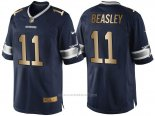 Camiseta Dallas Cowboys Beasley Profundo Azul Nike Gold Game NFL Hombre