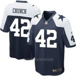 Camiseta Dallas Cowboys Church Negro Blanco Nike Game NFL Nino
