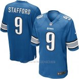 Camiseta Detroit Lions Stafford Azul Nike Game NFL Hombre