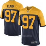 Camiseta Green Bay Packers Clark Negro Amarillo Nike Game NFL Hombre