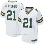 Camiseta Green Bay Packers Clinton-Dix Blanco Nike Elite NFL Hombre
