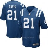 Camiseta Indianapolis Colts Davis Azul Nike Game NFL Hombre